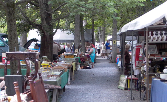 Shupps Grove Antique Market Adamstown Pennsylvania